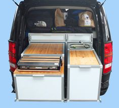 pullout kitchen for those who use a roof tent Minivan, Camper, Discovery, Tent, Kitchen, Cabin Tent, Baking Center, Caravan, Store