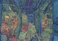 Eraser-Mutants / The Underground of Robo-City Sixteen Arte Cyberpunk, Cyberpunk 2077, Pastel Punk, Cyberpunk Character, Fantasy Inspiration, Layout Inspiration, People Illustration, Weird Creatures, Dark Art