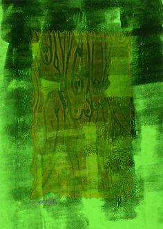 """6"" - Monotipo Painting, Art, Printmaking, Art Background, Painting Art, Kunst, Paintings, Performing Arts, Painted Canvas"