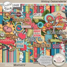Sibling Camaraderie by Cluster Queen Creations and Victoria Feemster Designs