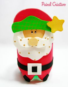 5 Modelos de Lembrancinhas em EVA para o Natal   Painel Criativo