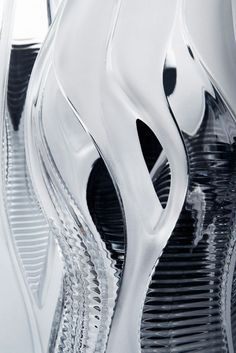 Zaha Hadid, Crystal architecture collection for Lalique.