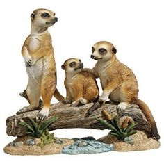Design Toscano The Meerkat Clan Garden Statue >>> Be sure to check out this awesome product.