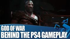 God of War PS4 Gameplay with Behind the Scenes info