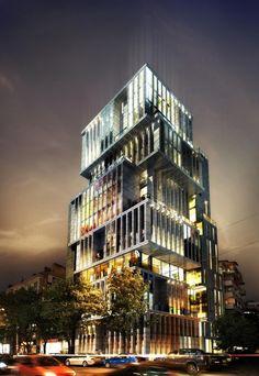 In Progress: Building In Sofia / Aedes Studio