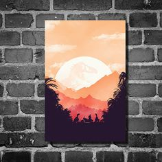 Jurassic Park Poster- LOOOOVE