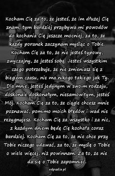 Kocham cię za What Is Love, I Love You, My Love, The Words, Meditation Exercises, Fake Love, Willpower, Life Quotes, Soul Quotes