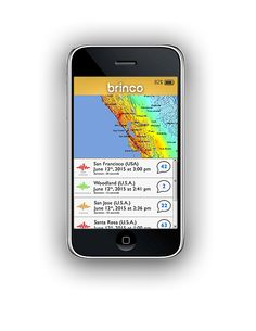 Brinco is an app that connects to national and regional seismic networks, to create an early warning system that warns users of earthquakes and tsunamis about to happen in their location. Brinco was developed by OSOP, a multicultural team of seismologists and engineers led by Branden Christensen and Ángel Rodriguez.  #newtech #technology #innovation #whyisit #earthquake #tsunami #warning #app #lifesaving #crowdfunded