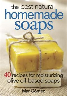 Luxurious, moisturizing olive oil–based soaps made easily at home. There are only three essential ingredients required to create these luscious soaps: water, olive oil and caustic soda. Olive oil is used because it has the highest rating as a soap-making ingredient — its properties are known throughout the world. It's the most beneficial oil for your health and has been used since ancient times thanks to its virtues for glowing hair and skin. It is rich in vitamins and minerals and has the adde Homemade Soap Recipes, Homemade Gifts, Homemade Cards, Homemade Facials, Homemade Paint, Homemade Scrub, Carrot Soap Recipe, Diy Savon, Honey Soap