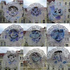 Výsledek obrázku pro zimní městečko ve výtvarce