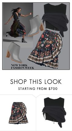 """New York Fashion Week"" by jelena-topic5 ❤ liked on Polyvore featuring Alexis Mabille, Maticevski, Ted Baker and NYFW"
