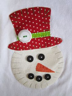 t shirt applique--i would use it on a pillow or towel