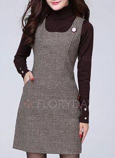 Casual Dresses, Cute Dresses, Short Dresses, Fashion Dresses, 1960s Fashion, Fashion Sewing, Ankara Gown Styles, Stylish Work Outfits, Stylish Blouse Design