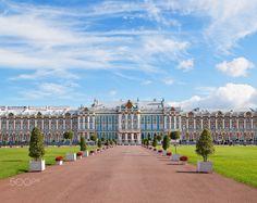 Catherine palace in Pushkin, Russia - Catherine palace in Pushkin, Russia