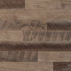Reclaimed Brown Plank|Wood.  Features oak, polar and other hardwoods.  Rough sawn texture. Planks are precision milled fro easy DIY installation.