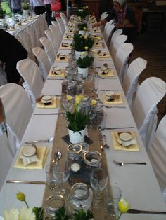 Table Setting at Creekside Estate Winery