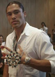 Native American Models, Native American Beauty, Native American History, American Indians, Gorgeous Men, Beautiful People, He's Beautiful, Martin Sensmeier, Polynesian Men