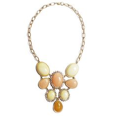 Lydell NYC - Pastel and Crystal Necklace