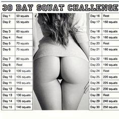 the squat challenge