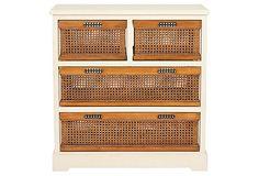 perfect storage for a vintage kitchen (onekingslane.com)