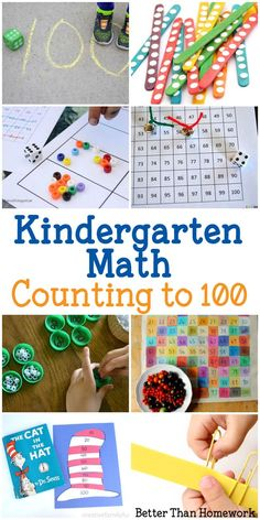 Kindergarten Math: H