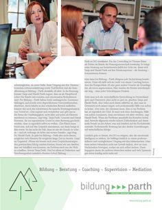 Ein Bericht im Mistelbacher Magazin miju über uns, unser Team und unsere Dienstleitungen.  #Bildung #Beratung #Coaching #Supervision #Mediation #education #Consulting #counseling