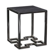 """Adonis Side Table 24"""" H x 16"""" W x 16"""" D Tritter Feefer   **Also Available in 7 Powder Coat Finishes"""