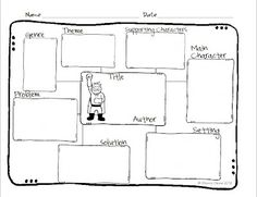 Story Map…Wow! This freebie is useful for any fictional book at soooo many grade levels!