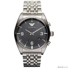 Emporio Armani Mens AR0369 Analog Black Watch