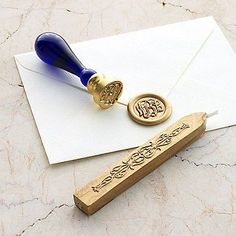 Personalized Custom Initials Wedding Heart & Arrow Wax Seal Stamp x ...