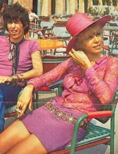 Recently released photographs of Anita Pallenberg: Part 1