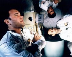 """Kevin Bacon, Tom Hanks and Bill Paxton in """"Apollo 13"""" (1995)"""