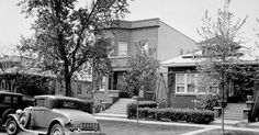 Al Capones Chicago Home. Italian Mobsters, Hate Valentines Day, Chicago Outfit, Al Capone, Gangsters, Mafia, Crime, History, American