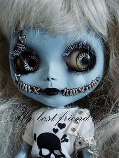 my best friend'09  custom blythe pullip taeyang del  bjd by my best friend'09, via Flickr