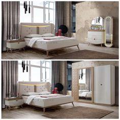 Classic Bedroom Furniture, Bedroom Furniture Sets, Bed Furniture, Bedroom Sets, Wardrobe Design Bedroom, Bedroom Bed Design, Loft Bedroom Kids, Room Color Design, Big Bedrooms