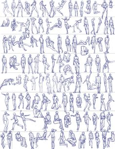 Ben_Li_Gestures_29 Human Figure Drawing, Figure Sketching, Figure Drawing Reference, Animation Reference, Art Reference Poses, Gesture Drawing, Body Drawing, Drawing Poses, Drawing Lessons