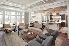 What's your favorite thing about this open concept living area of your Orlando Homes?
