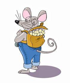 Ratón con dientes