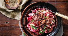 Tuck into this gluten-free, low GI take on a traditional risotto tonight!