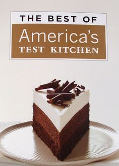 Triple Layer Chocolate Mousse Cake America's Test Kitchen by Theresa E - Key Ingredient Cupcakes, Cupcake Cakes, Cupcake Ideas, Triple Chocolate Mousse Cake, Chocolate Cake, Decadent Chocolate, Mint Chocolate, Chocolate Desserts, Cake Recipes