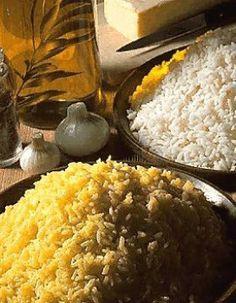 Riz créole et riz pilaf