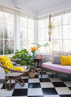 Love this sunroom