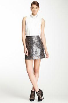 Nanette Lepore Disco Lady Sequin Skirt by Nanette Lepore 79.00 on @HauteLook