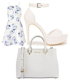 """Untitled #115"" by trinityaustin715 on Polyvore featuring Lipsy, Nly Shoes and MICHAEL Michael Kors"