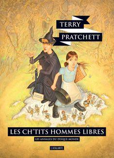 Nouvelle édition ! Les ch'tits hommes libres de Terry Pratchett, Les Annales du Disque-monde (livre 30, 2018) ©Paul Kidby / Leraf