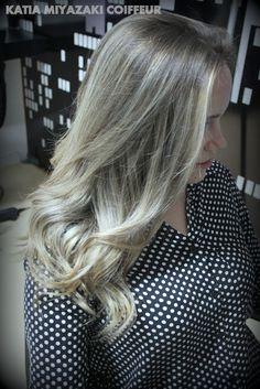 Katia Miyazaki Coiffeur - Salão de Beleza em Floripa: Ombre Hair - Ombre loiro - Ombre hair pérola - Sal...