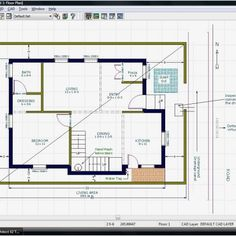 South Facing Home Plans Awesome south Facing Plot East Facing House Plan House Plans X south Facing Cad Tools, Duplex Plans, Digital Photography, House Plans, Floor Plans, How To Plan, Building, Awesome, Home