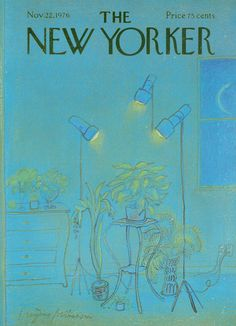 The New Yorker - Monday, November 22, 1976 - Issue # 2701 - Vol. 52 - N° 40 - Cover by : Eugène Mihaesco