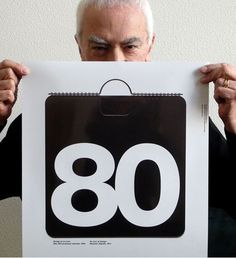"""Massimo Vignelli, 1931-2014 Massimo once said: """"The life of a designer is a life of fight: fight against the ugliness."""" Well... definitely the world we know is less ugly because of his contribution."""