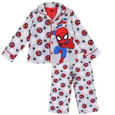 BNWT Little Boys Sz 1 Super Cute Action Hero Hooded Dressing Gown /& Slippers Set